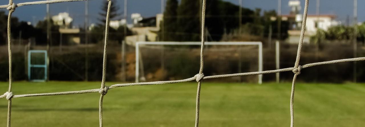 Piłka nożna przed telewizorem